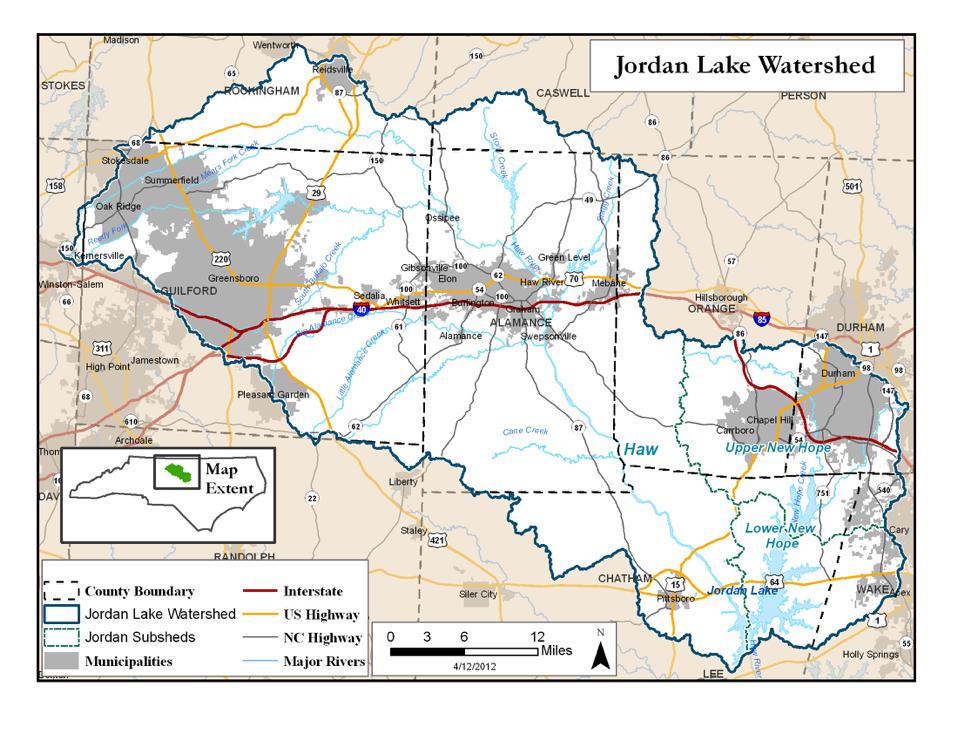 Jordan Lake Watershed
